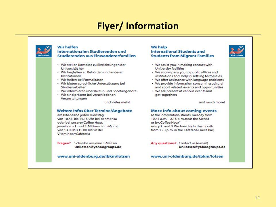 Flyer/ Information 14