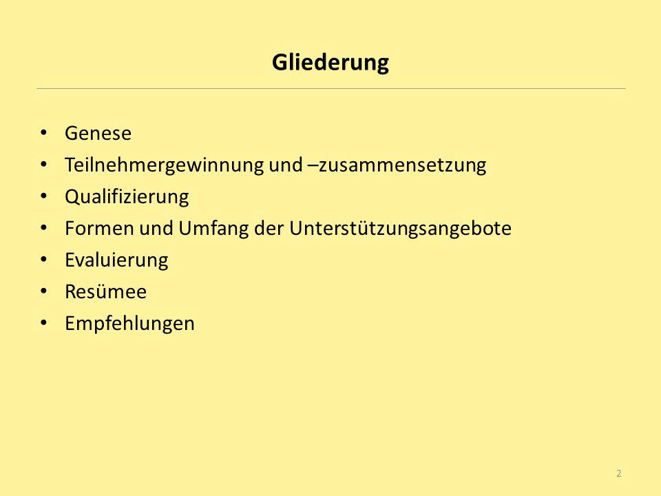 Genese: Von den Integrations- zu den Unilotsen Integrationslotsen in Niedersachsen Das niedersächsische Integrationslotsenprojekt besteht seit Mai 2007 und umfasst zur Zeit 217 Projekte mit rund 1100 Integrationslotsinnen und –lotsen.