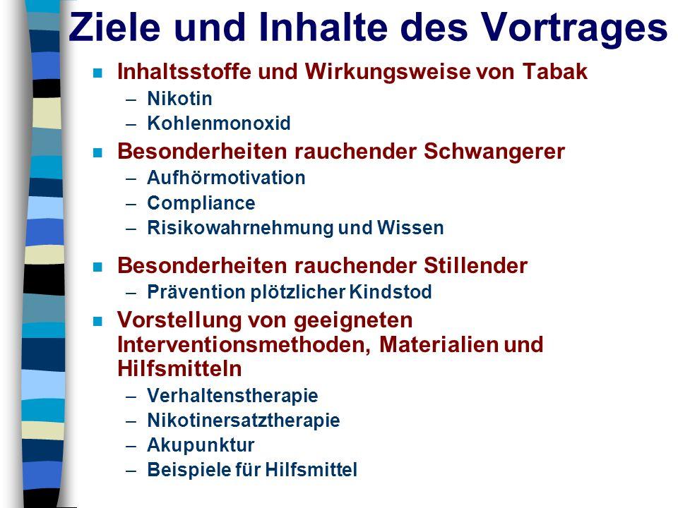 1 x 1 der Rauchberatung Nikotinersatztherapie Pflaster 24 Stunden - Pflaster NiQuittin, Nicotinell, Nikofrenon Dosierungen: Phase 1: 21 mg ( 52,5 mg), Phase 2: 14 mg (35 mg), Phase 3: 7 mg (17,5 mg) 16 Stunden – Pflaster Nicorette Dosierungen: Phase 1: 24,9 mg Phase 2: 16,6 mg Phase 3: 8,3 mgKaugummi/Lutschtabletten Kaugummi Nicorette,Nicotinell (mint, classic, fruit, freshmint, freshfruit) Dosierungen: 2 mg 4 mg Microtabs Nicorette Dosierung: 2 mg Lutschtabletten NiQuittin, Nicotinell Dosierungen: 4 mg 2 mg Kontakt Pfizer Consumer Healthcare - Nicorette: Jasmina Ritter, in den Meerwellen 32, 39128 Magdeburg; Tel: 01603639177