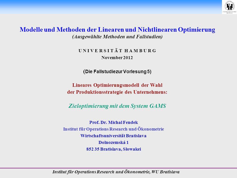 20.11.2012 Prof. Dr. Michal Fendek Folie Nr.:12