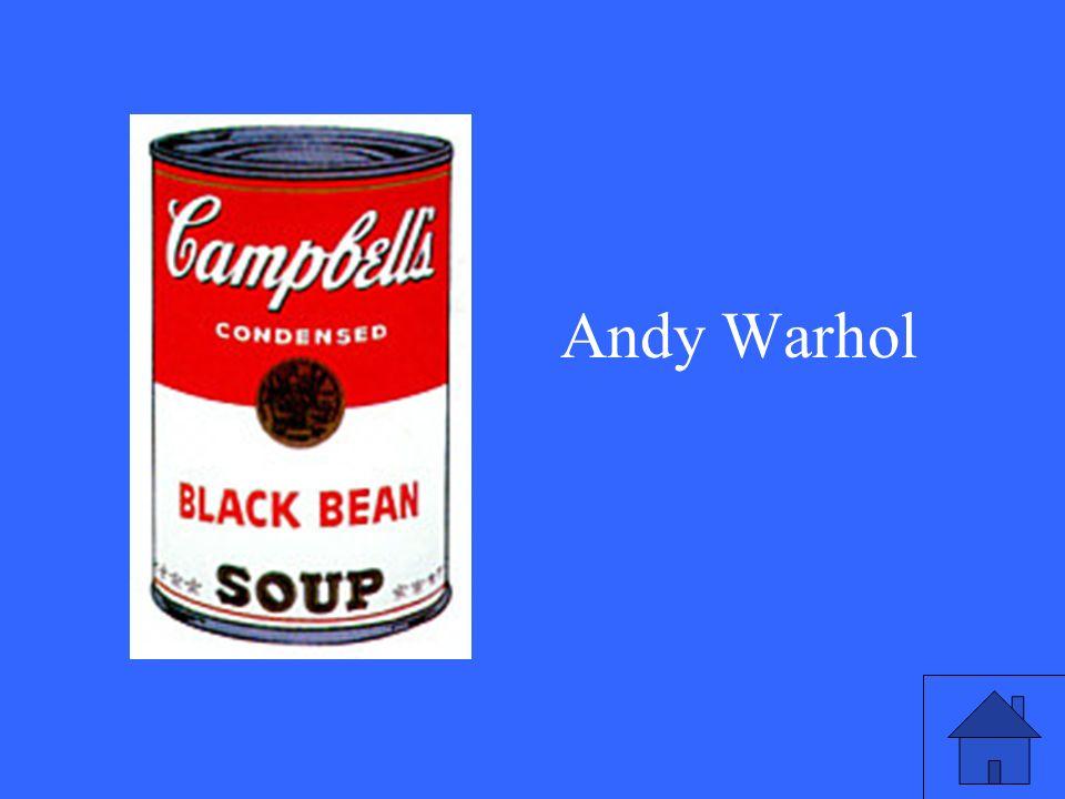 1953: Eine Karriere beginnt mit einer Suppendose. Wie heißt der Künstler