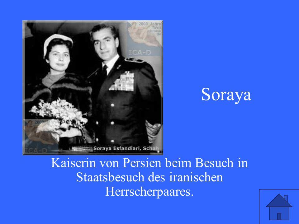 Welche Kaiserin genießt 1955 die besondere Aufmerksamkeit der deutschen Öffentlichkeit
