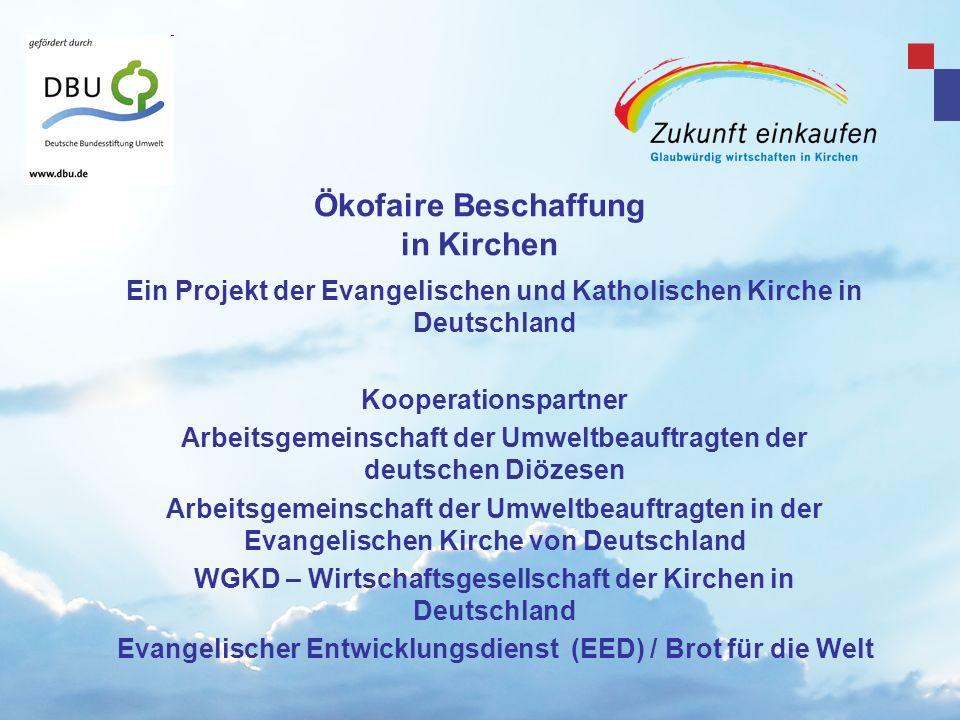 Copyright: EKvW 2008 www. zukunft-einkaufen.de Gefördert durch Unser neuestes Projekt!