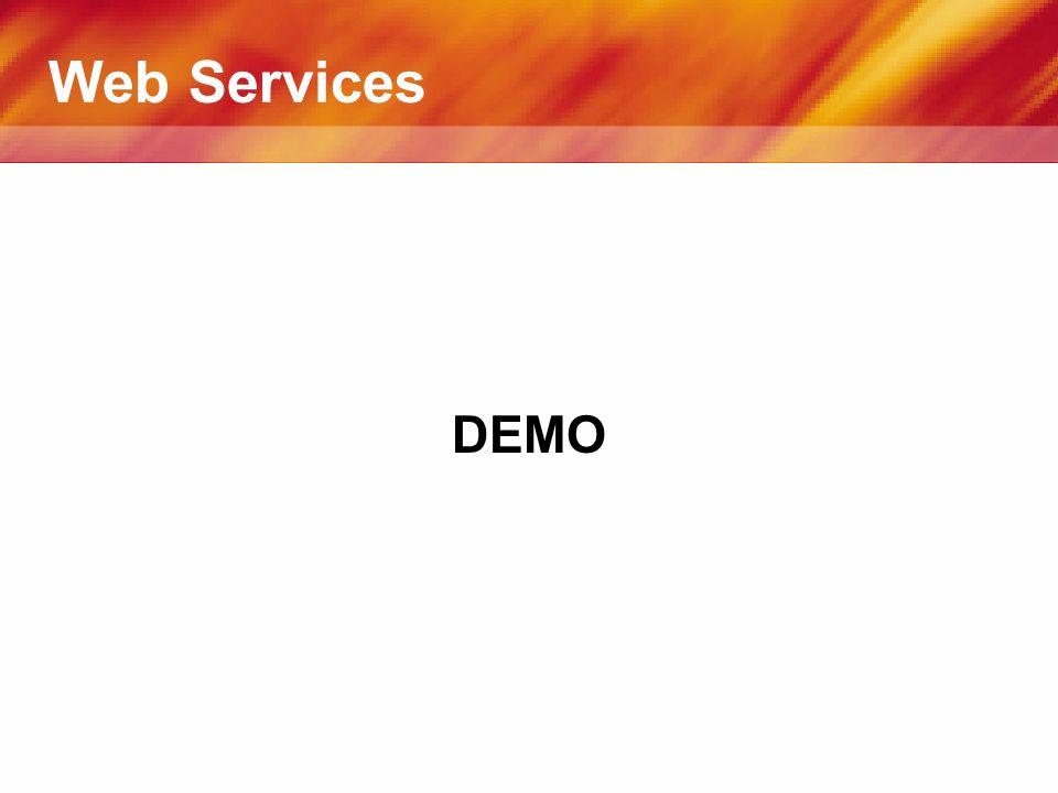 Web Services DEMO
