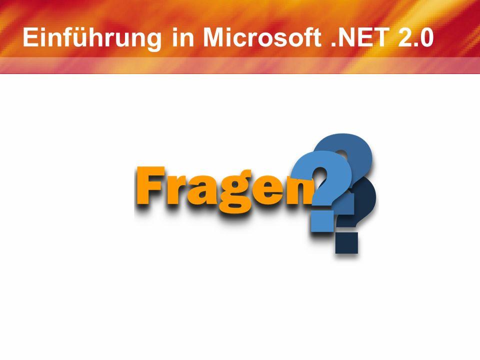 Einführung in Microsoft.NET 2.0