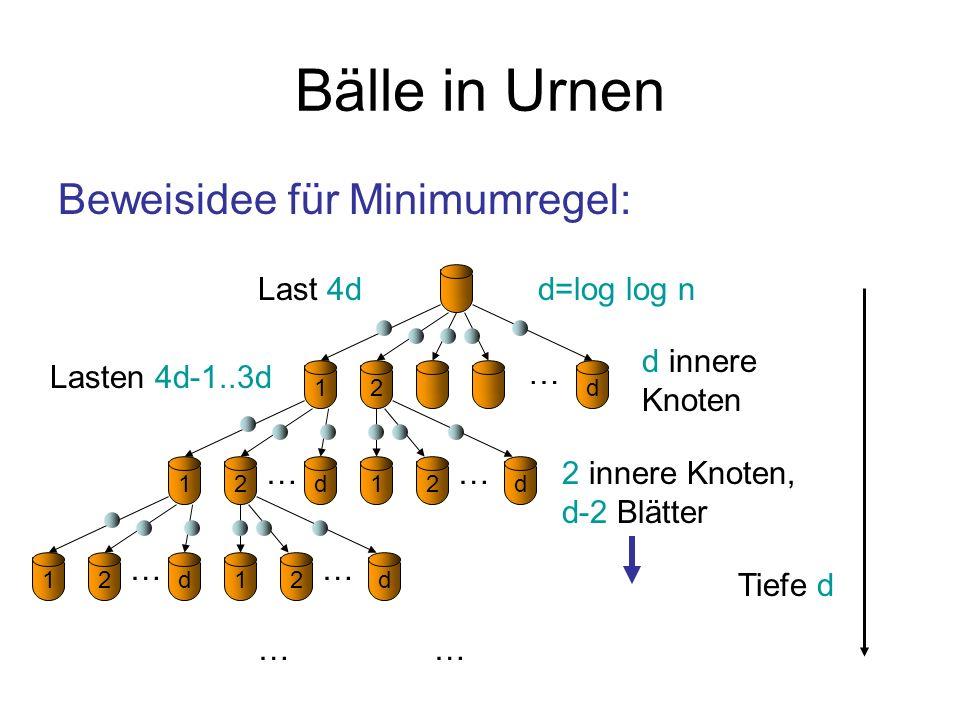 Bälle in Urnen Zu zeigen: m.h.W.