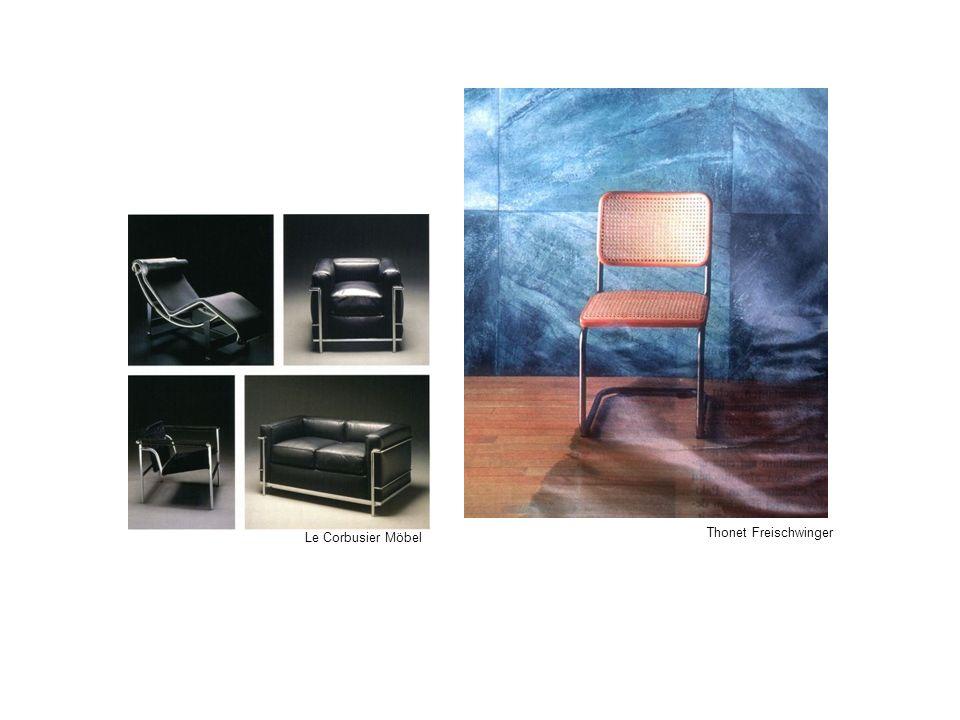 Thonet Freischwinger Le Corbusier Möbel