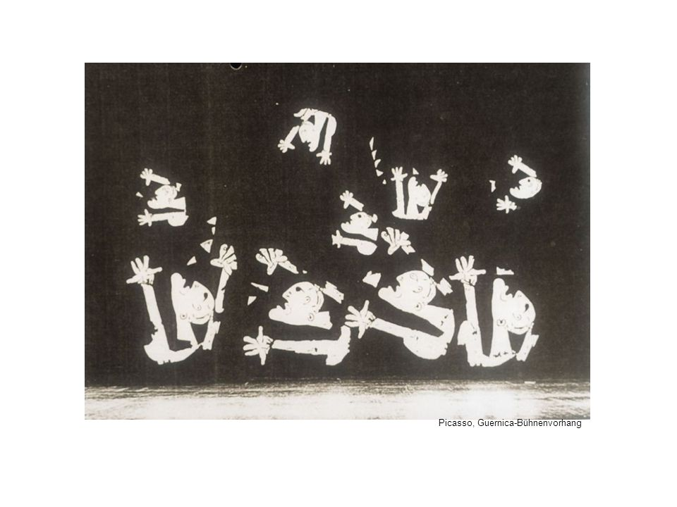 Picasso, Guernica-Bühnenvorhang
