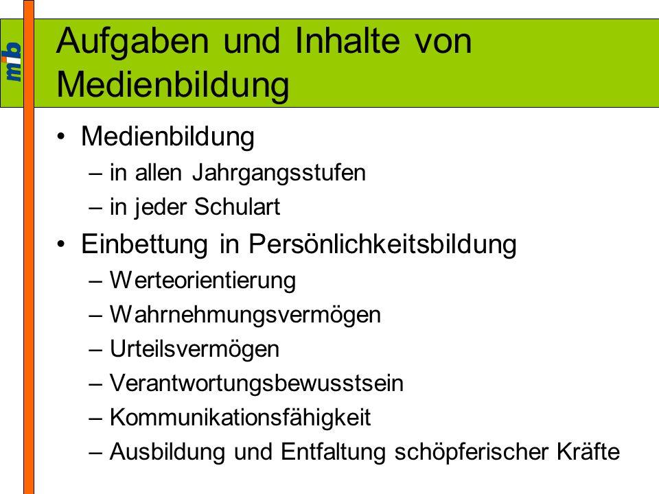 Medienpädagogik in der Lehrerbildung Grundlagenwissen –Erste Phase der Lehrerbildung (Studium) LPO I –§ 32 Abs.
