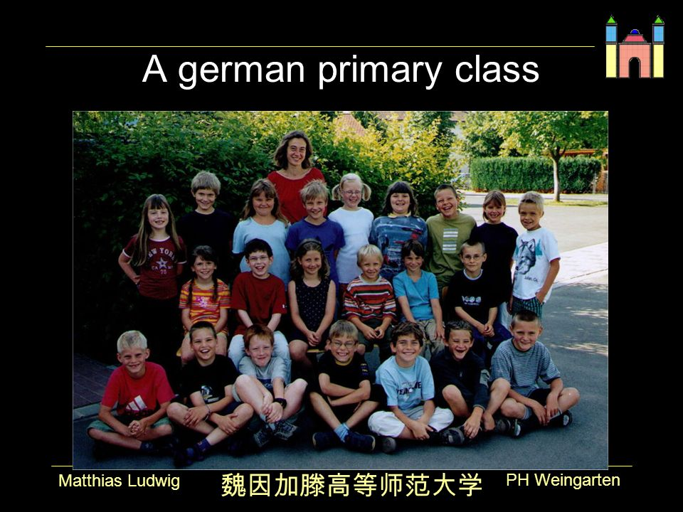 PH Weingarten Matthias Ludwig A german primary class