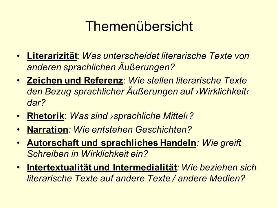 Die Rolle der Dichtung im 18.Jh. Im 18.