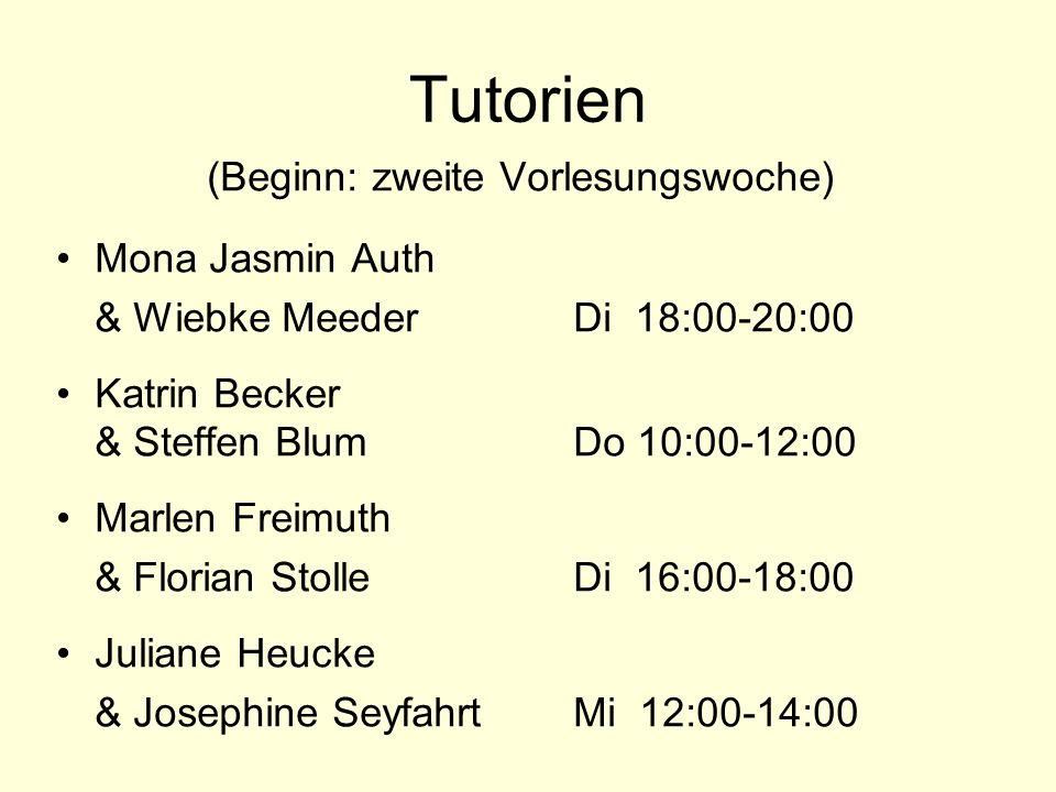 Texte und Folien im Netz unter: www.uni-erfurt.de/literaturwissenschaftwww.uni-erfurt.de/literaturwissenschaft/ (jeweils ab Dienstag nach der Vorlesung) Paßwort für die Texte: