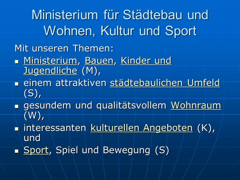 Ministerium f. Arbeit, Soziales, Qualifikation und Technologie