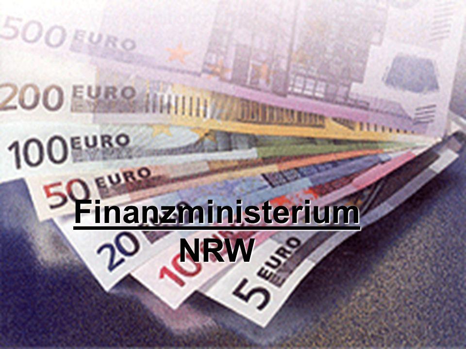 Finanzministerium Das Finanzministerium kümmert sich um die Finanzen in NRW die Aktuellen dinge um die sie sich kümmern sind: NRW verstärkt Bekämpfung des Umsatzsteuerbetrugs NRW verstärkt Bekämpfung des Umsatzsteuerbetrugs Neuordnung der Oberfinanzdirektionen Neuordnung der Oberfinanzdirektionen