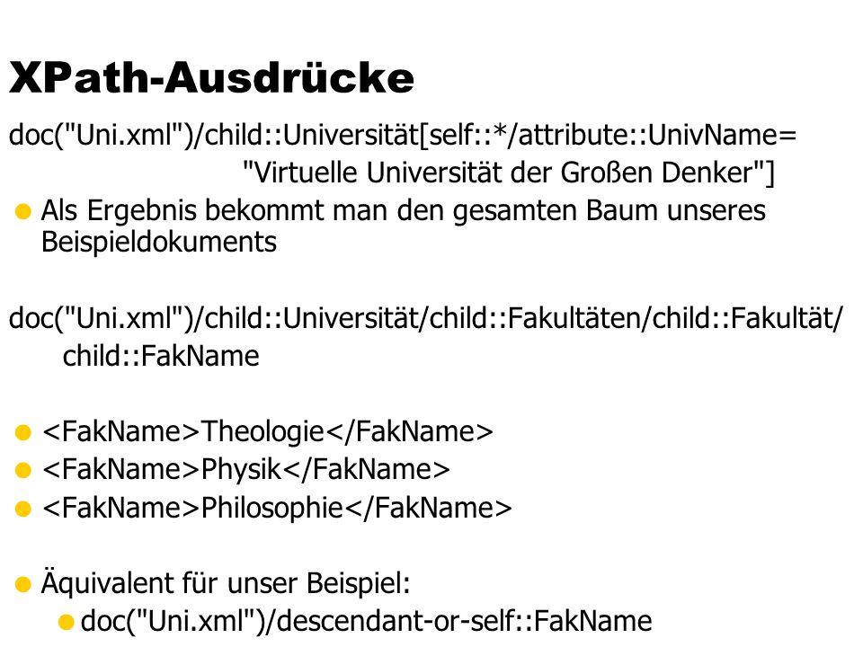 XPath-Ausdrücke doc(