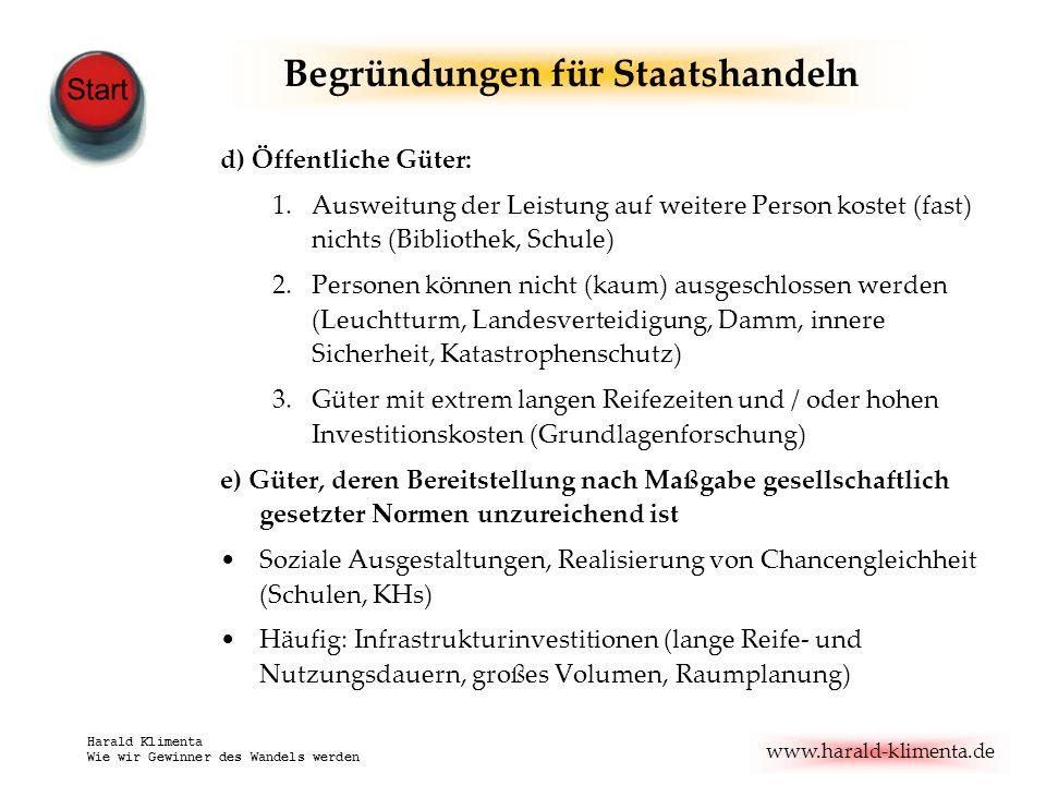 www.harald-klimenta.de Harald Klimenta Wie wir Gewinner des Wandels werden Alles vergessen.