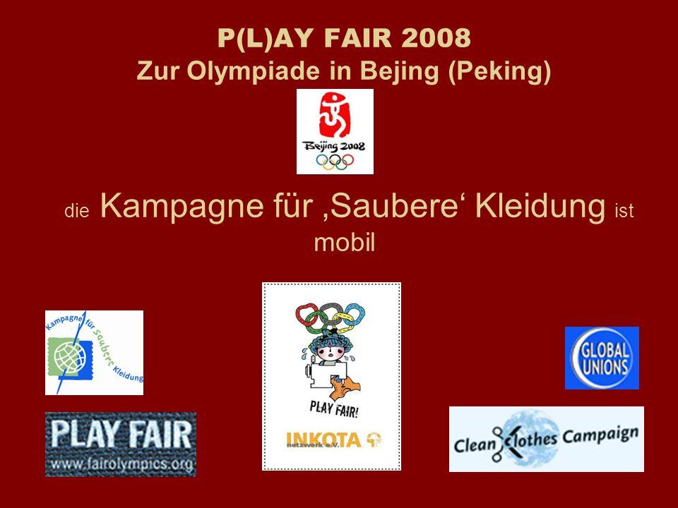 Play Fair bei Olympia Was bisher geschah...