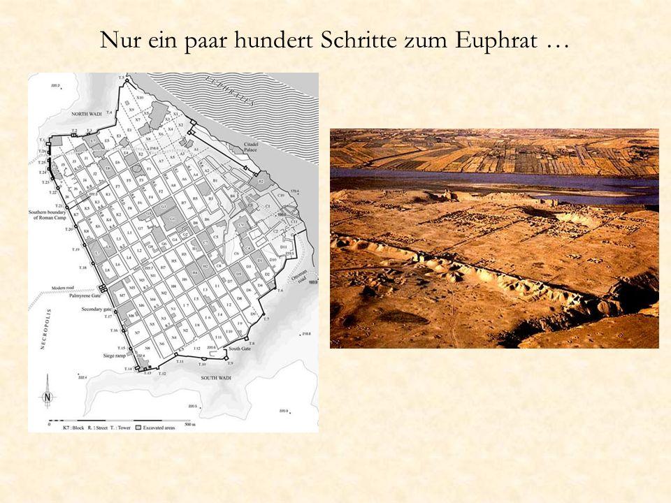 Nur ein paar hundert Schritte zum Euphrat …