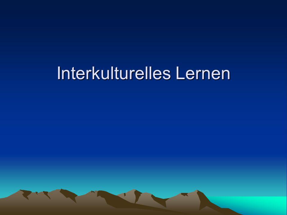 Interkulturelles Lernen