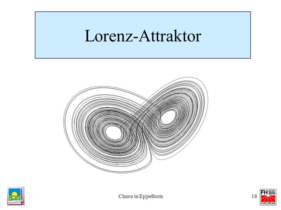 Chaos in Eppelborn18 Lorenz-Attraktor