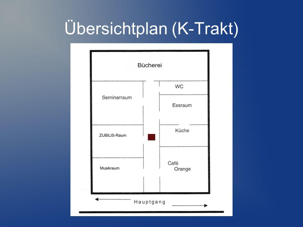 Übersichtplan (K-Trakt)