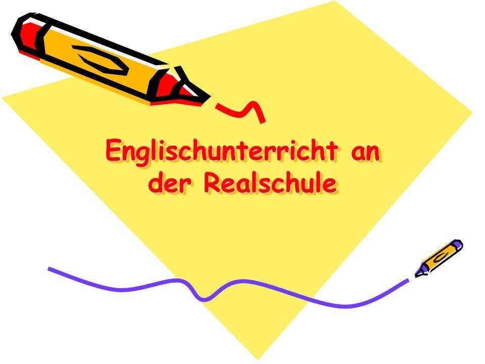Englischunterricht an der Realschule