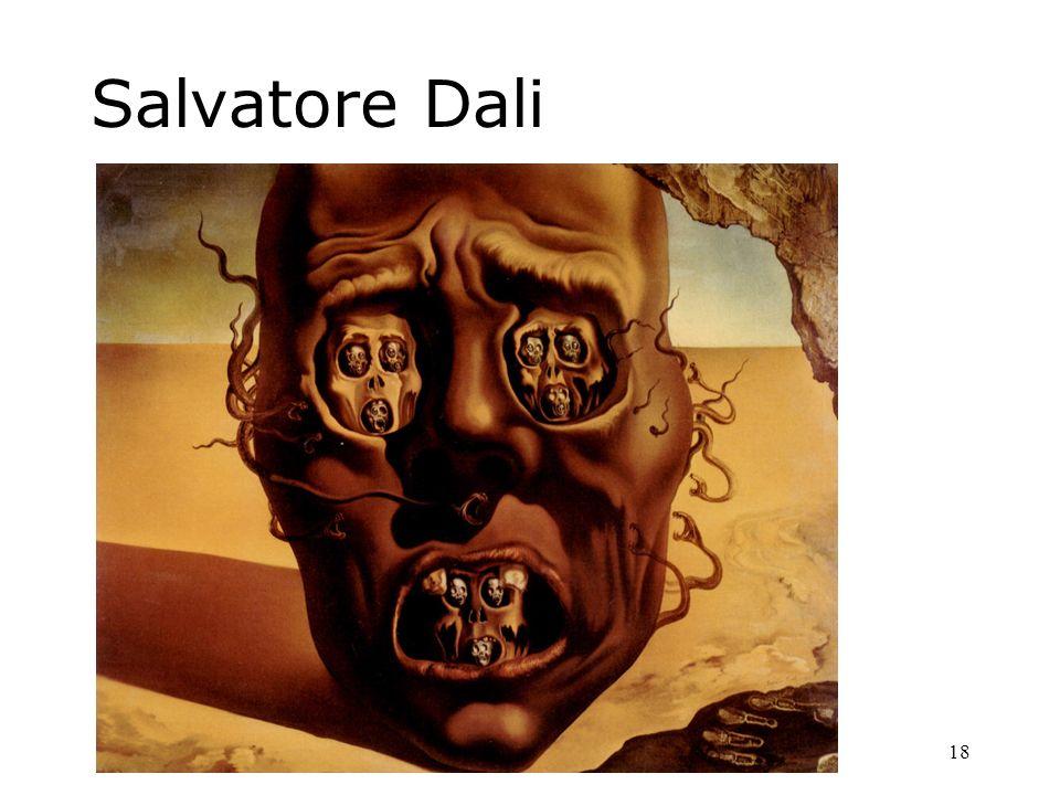 18 Salvatore Dali
