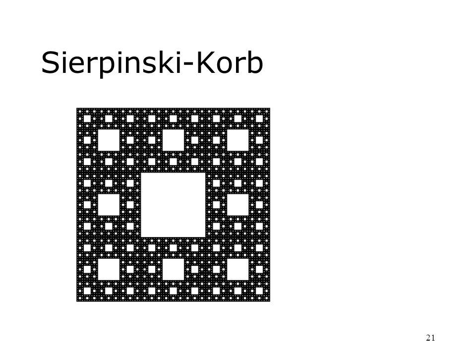 21 Sierpinski-Korb
