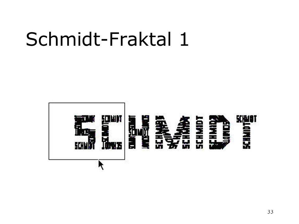 33 Schmidt-Fraktal 1