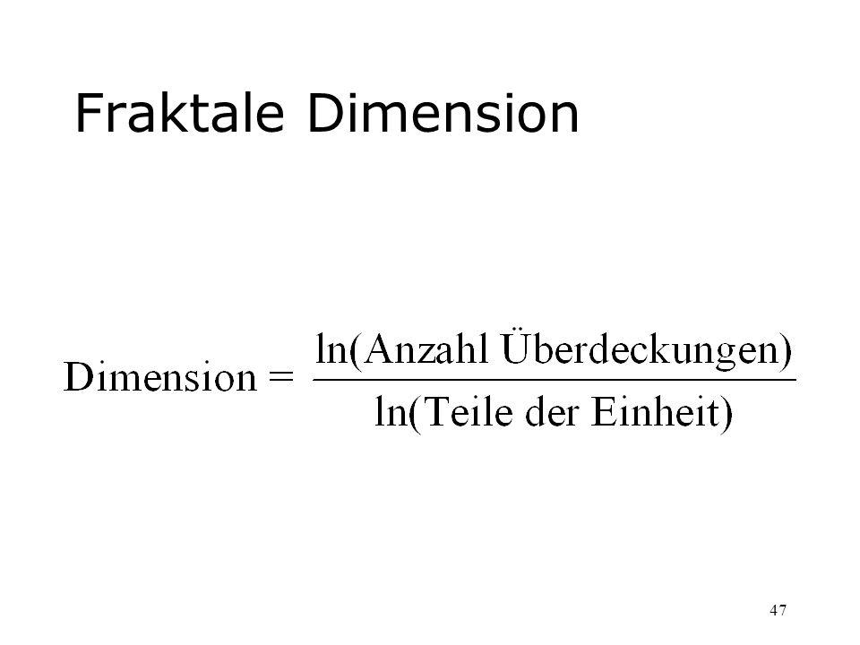 47 Fraktale Dimension