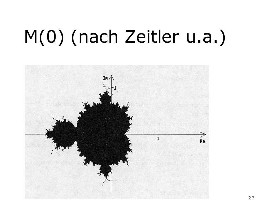 87 M(0) (nach Zeitler u.a.)