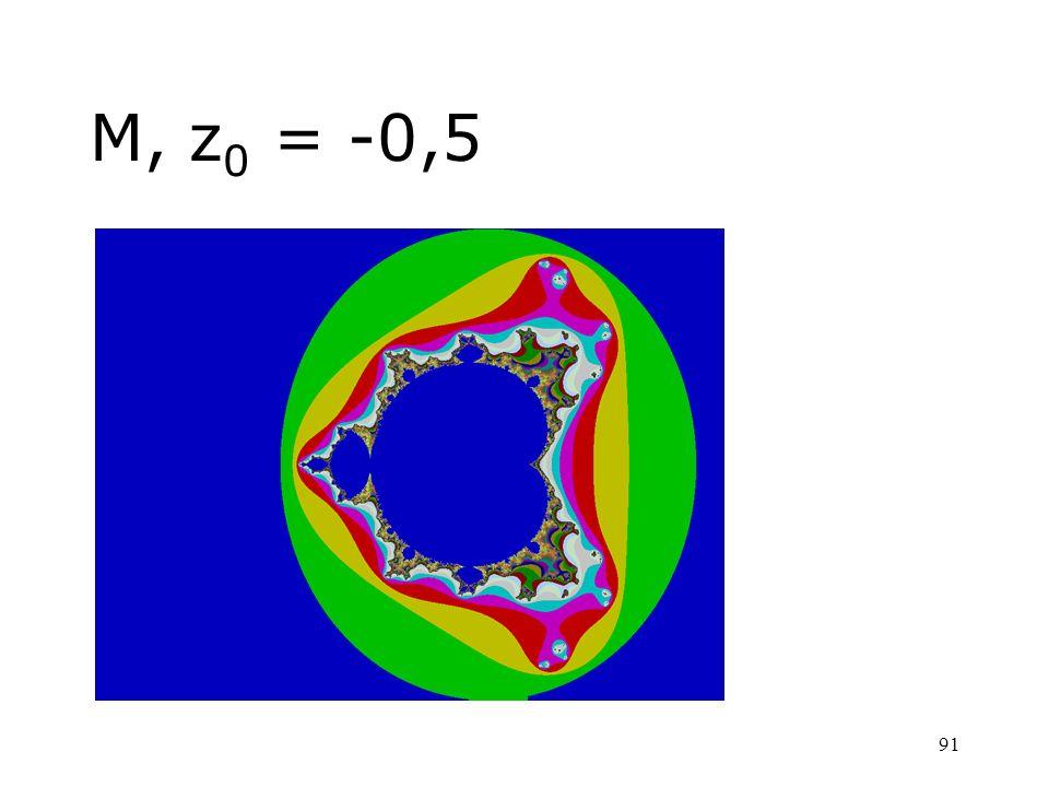 91 M, z 0 = -0,5