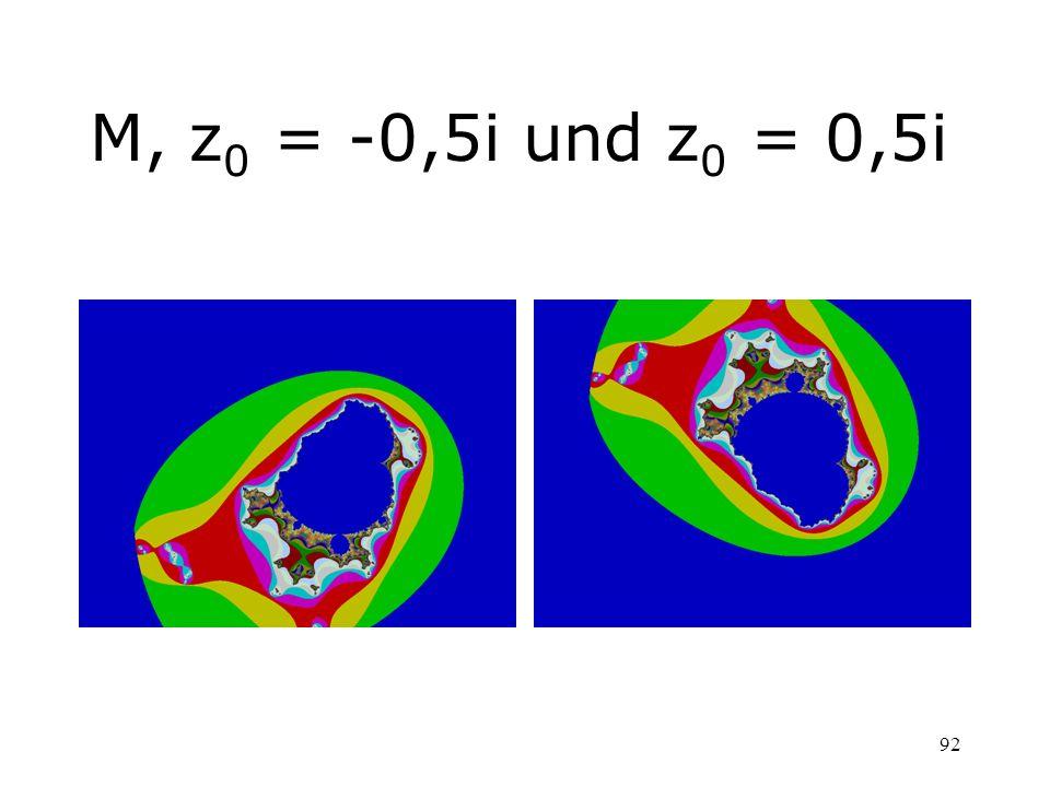 92 M, z 0 = -0,5i und z 0 = 0,5i