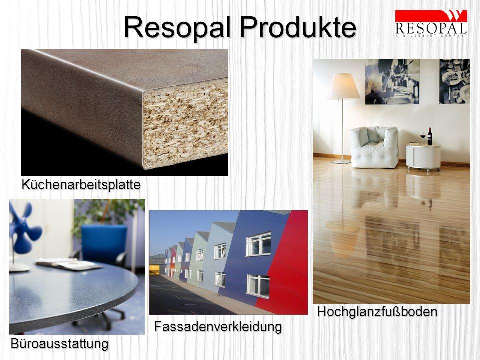 Resopal Produkte Küchenarbeitsplatte Büroausstattung Hochglanzfußboden Fassadenverkleidung