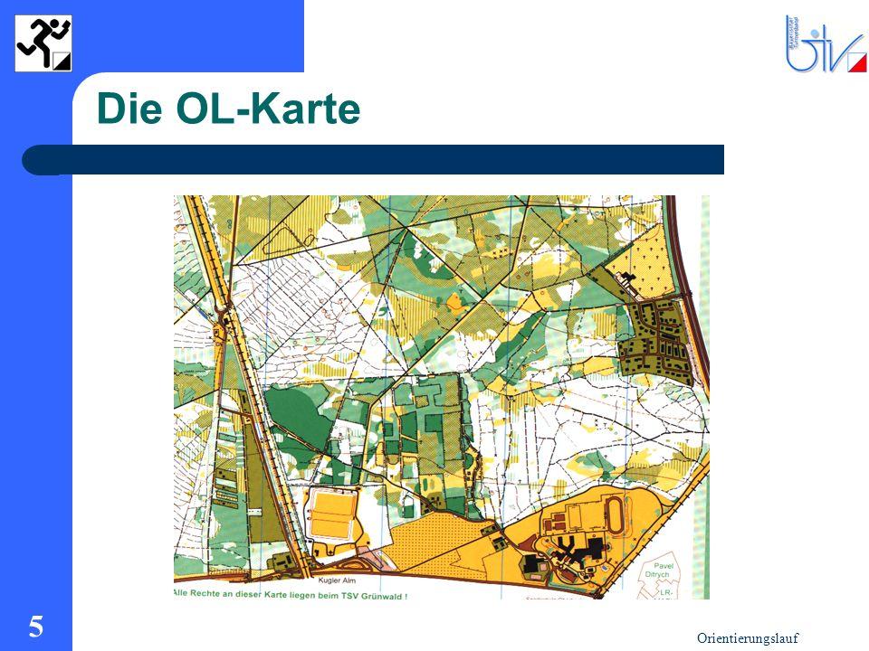 Orientierungslauf 5 Die OL-Karte
