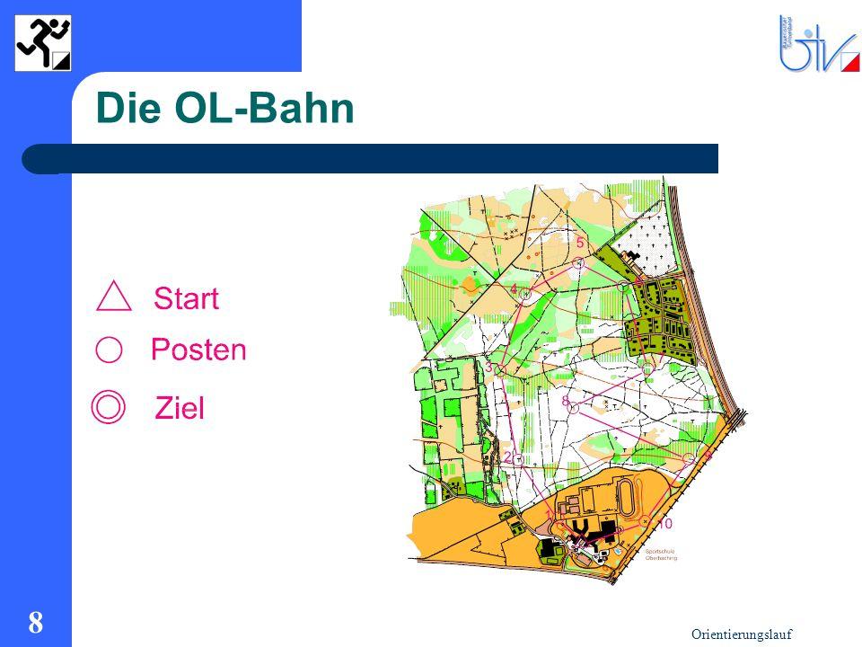 Orientierungslauf 8 Die OL-Bahn
