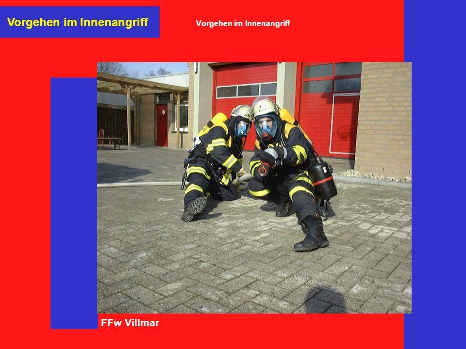 FFw Villmar Vorgehen im Innenangriff