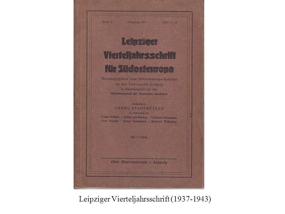Mitteilungen der Deutschen Akademie
