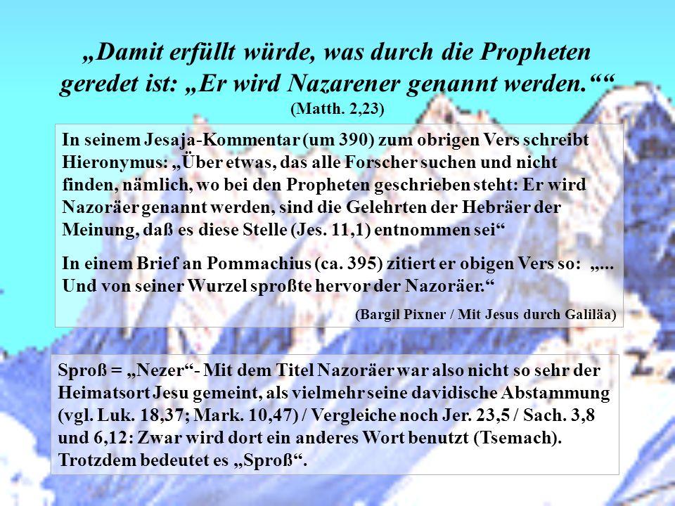 In seinem Jesaja-Kommentar (um 390) zum obrigen Vers schreibt Hieronymus: Über etwas, das alle Forscher suchen und nicht finden, nämlich, wo bei den P