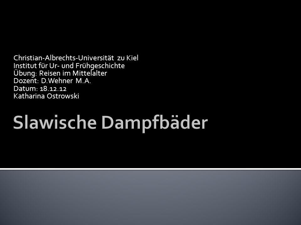 Christian-Albrechts-Universität zu Kiel Institut für Ur- und Frühgeschichte Übung: Reisen im Mittelalter Dozent: D.Wehner M.A. Datum: 18.12.12 Kathari