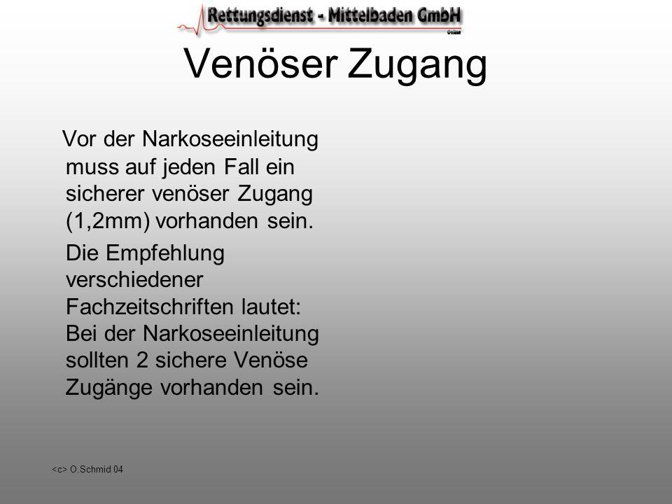 O.Schmid 04 Etomidate 20mg / 10ml I.V. Anästhetika Narkoseeinleitung