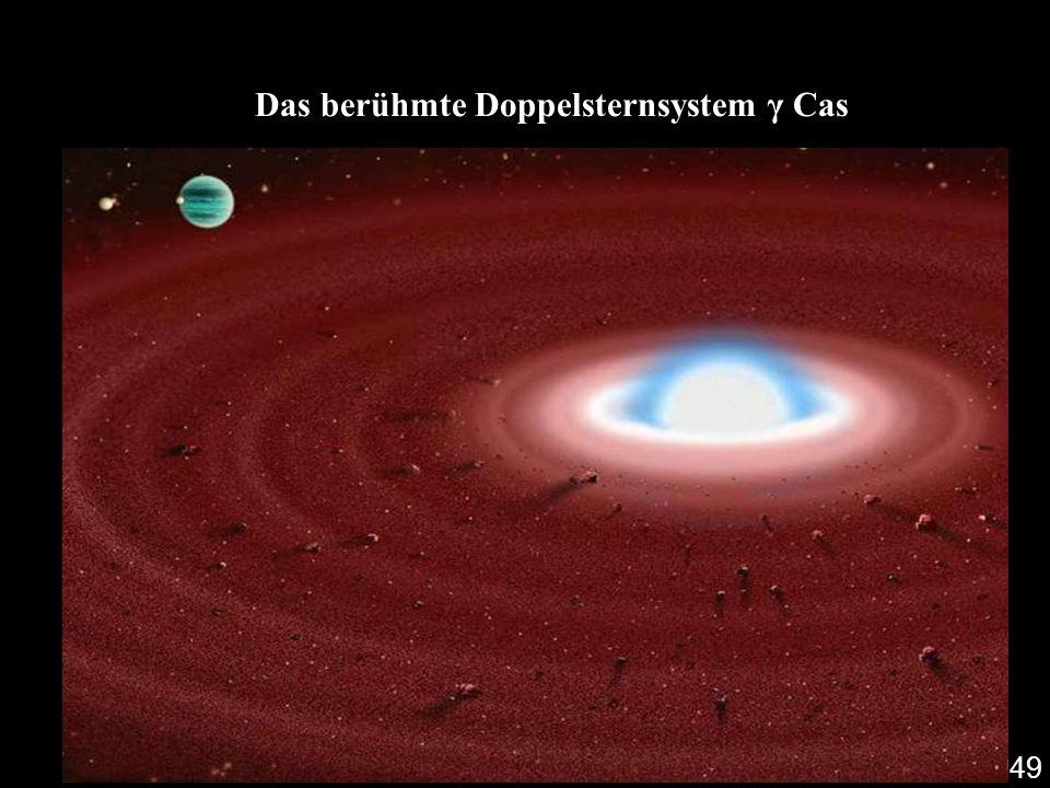 Das berühmte Doppelsternsystem γ Cas 49