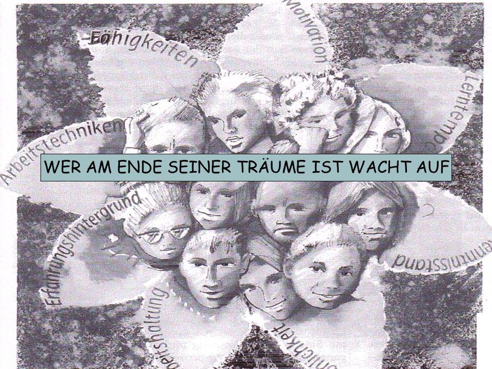 WER AM ENDE SEINER TRÄUME IST WACHT AUF