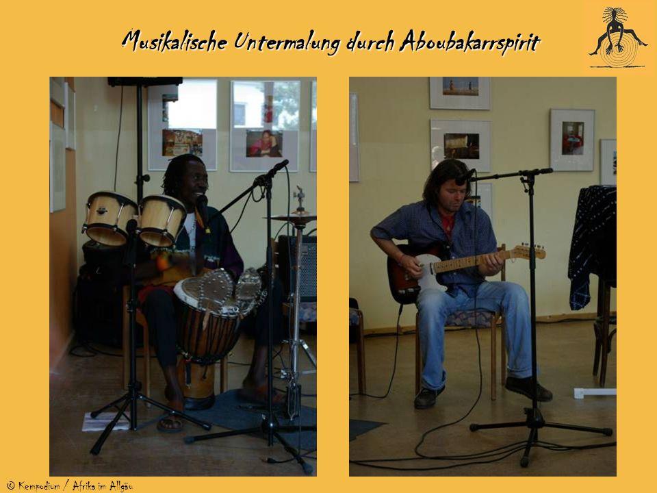 © Kempodium / Afrika im Allgäu Musikalische Untermalung durch Aboubakarrspirit