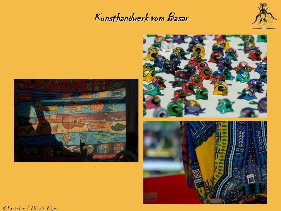 © Kempodium / Afrika im Allgäu Kunsthandwerk vom Basar