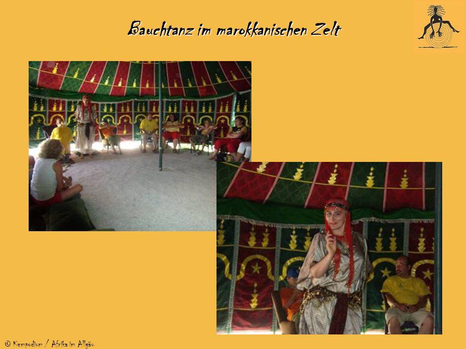 © Kempodium / Afrika im Allgäu Bauchtanz im marokkanischen Zelt