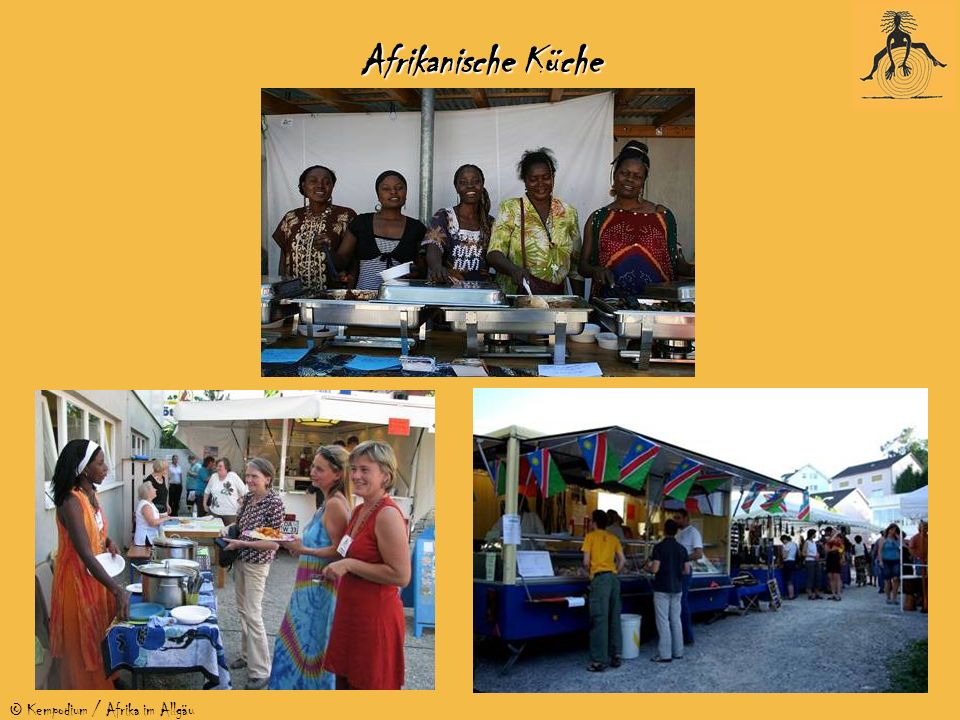 © Kempodium / Afrika im Allgäu Afrikanische Küche