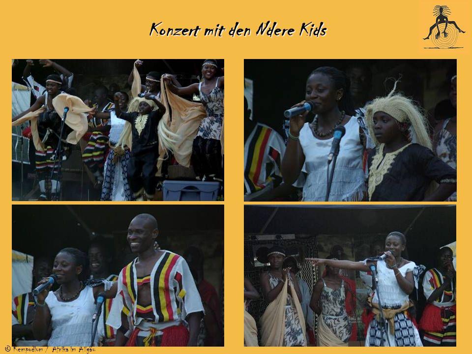 © Kempodium / Afrika im Allgäu Konzert mit den Ndere Kids