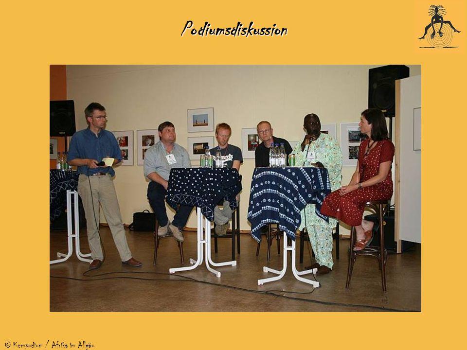 © Kempodium / Afrika im AllgäuPodiumsdiskussion