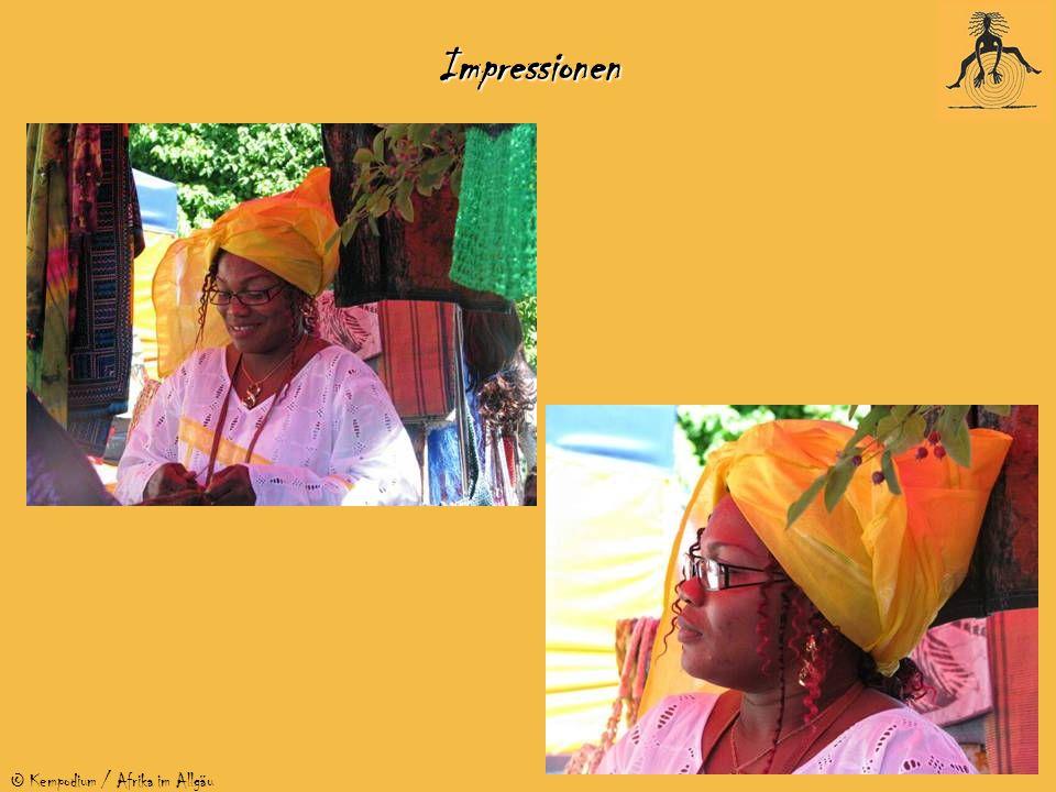 © Kempodium / Afrika im Allgäu Junge Festivalbesucher